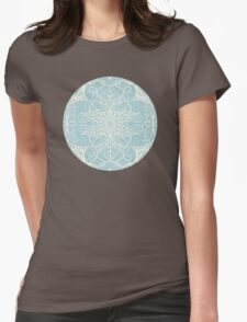 Floral Pattern in Duck Egg Blue & Cream T-Shirt