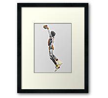 Dr J NBA  - Julius Erving - New York Nets Framed Print