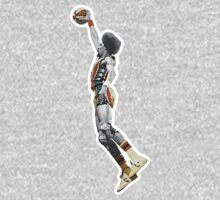 Dr J NBA  - Julius Erving - New York Nets by MuralDecal