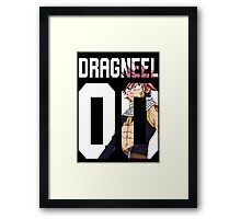 Natsu Dragneel - Fairy Tail 00 Framed Print