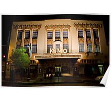 Pueblo Deco Architecture - The Kimo Theater, Downtown Albuquerque Poster