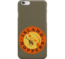 Island Hoppers /orange iPhone Case/Skin