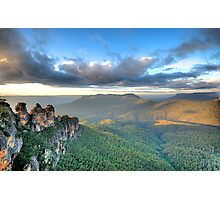 Sisters With A View - Blue Mountains World Heritage Photographic Print