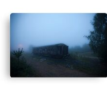 Ghost Train Canvas Print