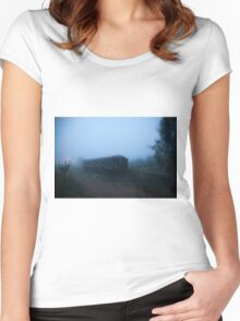 Ghost Train Women's Fitted Scoop T-Shirt