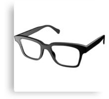 Glasses of Geek Canvas Print