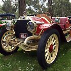 Itala Veteran Car in Drouin, Gippsland by Bev Pascoe