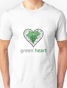 Green heart T-Shirt