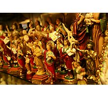 red gold religion Photographic Print