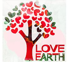 Earth love Photographic Print