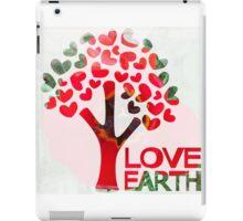 Earth love iPad Case/Skin