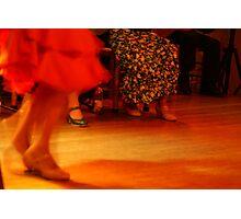 red flamenco dress Photographic Print
