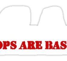 ACAB - All Cops Are Bastards Sticker