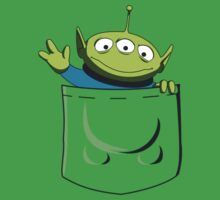 t-shirt toy story in pocket (green) T-Shirt