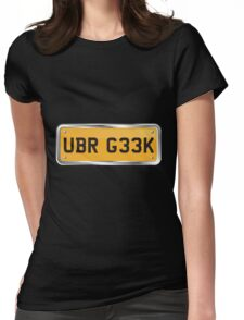 Geeky! Womens Fitted T-Shirt