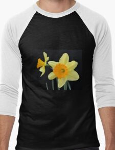 A Pair of Daffodils Men's Baseball ¾ T-Shirt