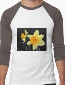 A Pair of Daffodils Men's Baseball ¾ T-Shirt
