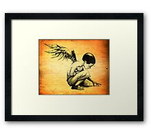 Blood Of Angels Framed Print