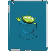 t-shirt toy story in pocket (blue) iPad Case/Skin