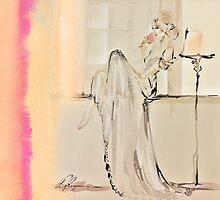 Anna Bridal Peach Pink by Belinda Baynes