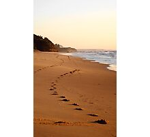 footsteps Photographic Print