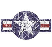 USAF US Airforce Roundel by quark