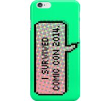 I survived comic con 2014 iPhone Case/Skin