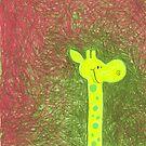 gustav giraffe by Maren Spreemann