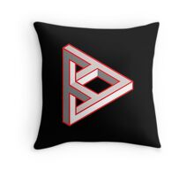 Punked Throw Pillow