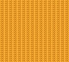 Yellow knitted pattern.  by artredppb