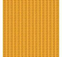 Yellow knitted pattern.  Photographic Print