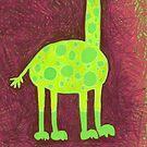 gustav giraffe - his feet by Maren Spreemann