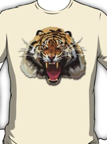 Tiger Roar Digital art Painting T-Shirt