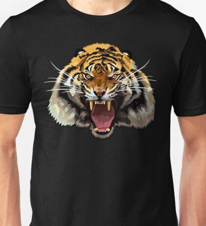 Tiger Roar Digital art Painting Unisex T-Shirt