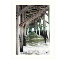 Pier in Color Art Print