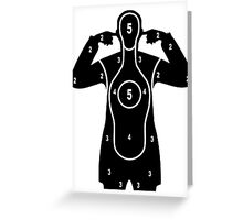 Here comes the bang target Greeting Card