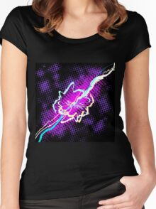 Burst of energy.  Women's Fitted Scoop T-Shirt