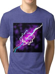 Burst of energy.  Tri-blend T-Shirt