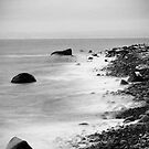 Norwegian rocky shore by Vegard Giskehaug