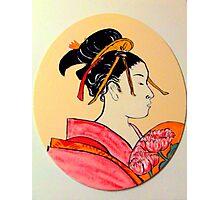 Geisha in the house of pleasure Photographic Print