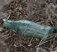 Old Coke Bottle by Judson Joyce