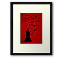 Rise of  the bats Framed Print