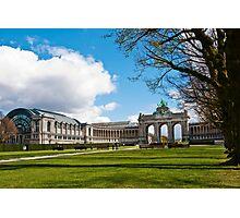 Parc Cinquantenaire - Brussels, Belgium Photographic Print