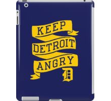Keep Detroit Angry iPad Case/Skin