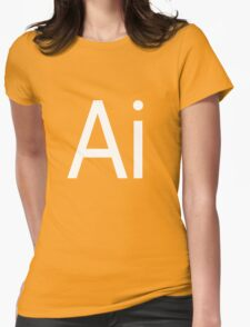 Ai - Illustrator Womens Fitted T-Shirt