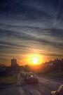 Tendring Road Sunrise by Nigel Bangert