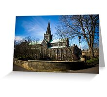View on Glasgow Cathedral Greeting Card