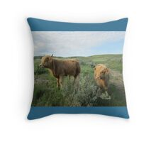 Maxwell and Molly  26 May 2014 Throw Pillow