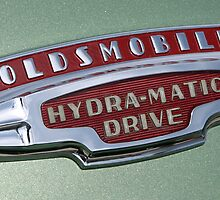 Oldsmobile Hydra-Matic Drive | Classic Car Emblem Series | Dominic R Sondy by Dominic R. Sondy