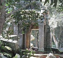 cambodia temples by grostique